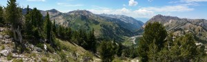 Little Cottonwood Canyon Panoramic